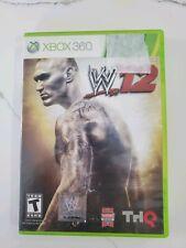 WWE '12 (Microsoft Xbox 360, 2011) Free Fast Shipping