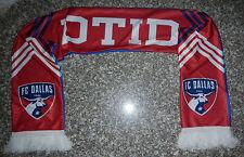FC Dallas MLS Soccer Dallas Til I Die DTID Winter Scarf ALDI Grocery Store Logo
