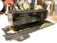 Wentz Lines Refrigerator Express Freight Car 1940's Pre Owned
