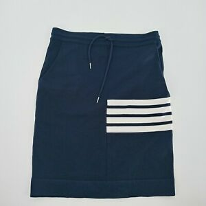 Women's THOM BROWNE Blue Pull On Skirt Size M L?