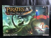 Pirates Quest For Davy Jones' Gold Board Game Complete Wizkids