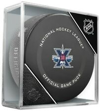 Winnipeg Jets 10th Anniversary 2021 Official Game Hockey Puck in Display Cube