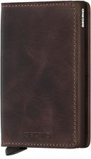 Secrid - Slimwallet Vintage - braun - NEU & OVP ( C-Black )