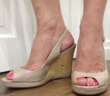 NEXT Patternless Synthetic Wedge Heels for Women