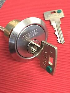 ABUS Lock Cylinder-Fitted With Secure 6 Inline Keying System & Restricted Keys