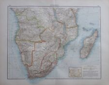1904 Südafrika - 55x43 cm alte Karte Landkarte old map