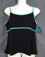 plus size BEACH BELLE lingerie double strap swimsuit swim tankini TOP 22 k