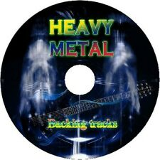 HEAVY METAL GUITAR BACKING TRACKS CD BEST GREATEST HITS MUSIC PLAY ALONG MP3