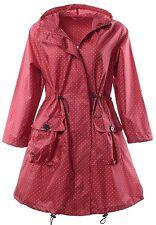 QZUnique Womens Rain Jacket Outdoor Poncho Raincoat Packable Waterproof w Hood
