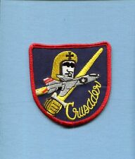 CHANCE VOUGHT F-8 CRUSADER FACTORY NAVY USMC MARINE CORPS Fighter Squadron Patch