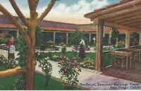 CC-094 CA, San Diego The Court Ramona's Marriage Place Divided Back Postcard
