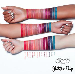 NEW Ciate Glitter Flip Holographic Metallic Matte Liquid Lipstick Pick Color NIB