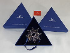 2003 Swarovski Crystal Snowflake Christmas Ornament in Box
