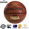 Authentic Spalding Gold NBA Basketball Indoor Outdoor Size 7 Official Game Size