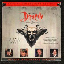 Bram Stoker's DRACULA Collector's Edition Laserdisc LD [41473] Deluxe Widescreen