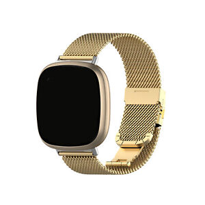 For Fitbit Versa 3/Fitbit Sense Sports Replacement Band Milanese Bracelet Watch