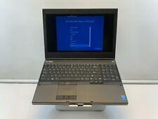 """New listing Dell Precision M4800 15.5"""" Core i7-4810Mq 500Gb Hdd/128Gb Ssd 32Gb Ram Win 10pro"""