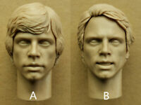 Star Wars Luke Skywalker 1/6 Head Carving Model Accessory F 12''Action Figure