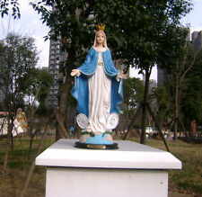 """Rare exquisite Catholic Our Lady Of Grace Mary Virgin Resin Statue Figure 16"""""""