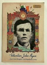 IRISH VOLUNTEER JOHN RYAN,EAST CLARE BRIGADE,IRISH REPUBLICAN ARMY,COMM BOOKLET
