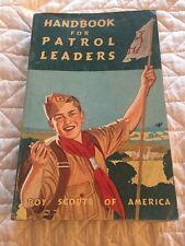 Near Mint  1964 Handbook For Patrol Leaders Boy Scouts BSA