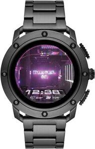 Diesel On Gen 5 DZT2017 Men's Stainless Steel Digital Dial Smart Watch JAA800