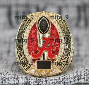Alabama Crimson Tide Football 2020-2021 National Championship Ring High Quality