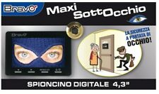 SPIONCINO DIGITALE PORTA CON MONITOR LCD 4,3 POLLICI FUNZIONE REGISTRAZIONE SD