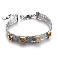 New Women Fashion Bear Series 03 Chain Bracelet Bangle Charm Jewelry Gift