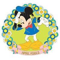 Disney April Fools Series Mickey Mouse Pin