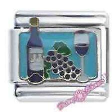 DAISY CHARM by JSC Italian Charm RED WINE & GLASS Drink