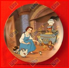 """Beauty and The Beast Collectors Plate """"Enchante Cherie"""" by Knowles/Disney"""