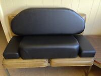 Caterpillar D6 8U 9U 4R 5R dozer Seat Cushion set arm rest CAT 4 piece old style