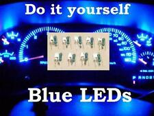 BLUE LED GM Instrument Cluster BULB REPLACEMENT KIT . Gauge speedometer  leds