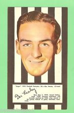 #D83.  COLLINGWOOD DES HEALEY 1953 ARGUS FOOTBALL PORTRAIT MAXI CARD #50