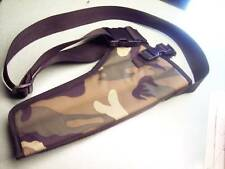 "Woodland CAMO RIGHT Hand Bandoleer Holster S&W Model 460 14"" Barrel w/ Scope"