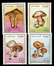 ALGERIA. Mushrooms. 1989. Scott 908-911. MNH