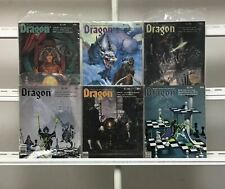 Dragon Magazine  Dragon Publishing  6 Lot Comic Book Comics Set Run Collection