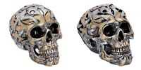 Nemesis Iron Skull Figurine Oriental Tribal Traditions Ornament Small or Large