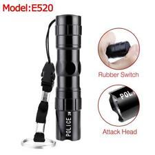 3W LED Flashlight Mini Waterproof Super Bright Police Torch Camping Hiking MT