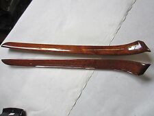 Interior Door Panel Trim 02-05 Audi A4 B6 - WOOD GRAIN-OEM 8E0867410  8E0867409