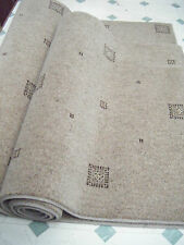 set of Two Axminster Rugs heavy domestic quality 80% wool, beige colour #1456