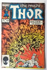 The Mighty Thor #344 Marvel FN 1st appearance Malekith The Accursed