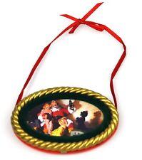 Coca-Cola Ee.Uu. Árbol de Navidad decoración Adornos - Santa 1964 Ornamento