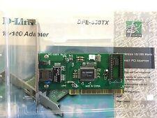 SCHEDA RETE D-LINK DFE-538-TX Rev-E1-A PCI ETHERNET 10/100 MBS DL10038D