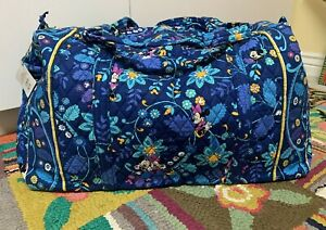 VERA BRADLEY Disney Parks Collection Mickey & Minnie Mouse X Large Duffle Bag