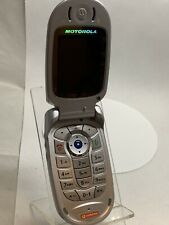 Motorola V525 Silver (Unlocked) Mobile Phone