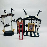 Monster High Freak Scaregrounds And Rochelle Goyle Playset As Is