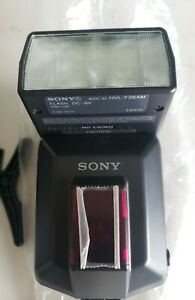 NOS SONY HVL-F36AM Flash with Case