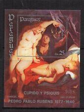 Paraguay : 1984 Rubens Commemoration (1577-1640) Minisheet ( MNH )